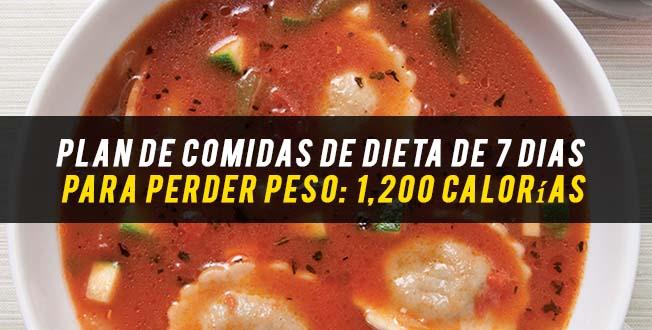 Dieta perder peso comida